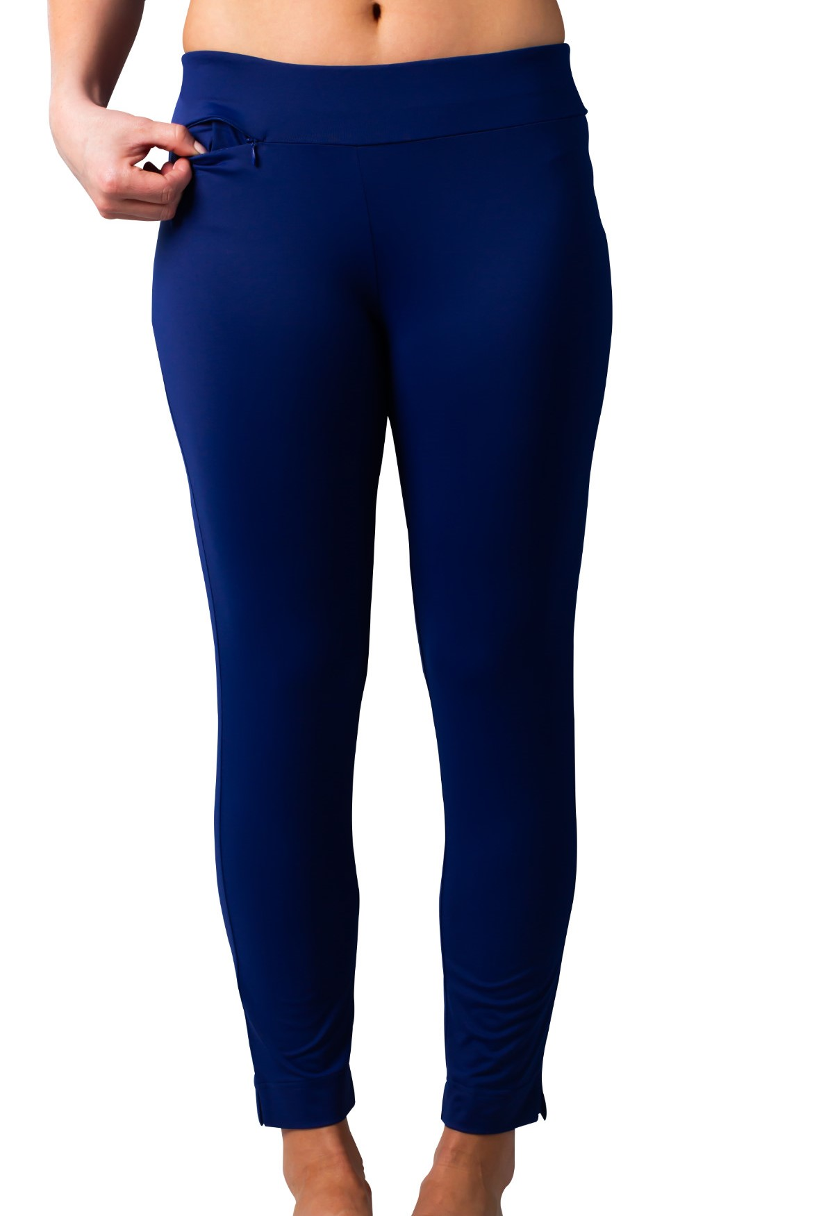 900210I SolStyle ICE Ankle Length Pant. Navy