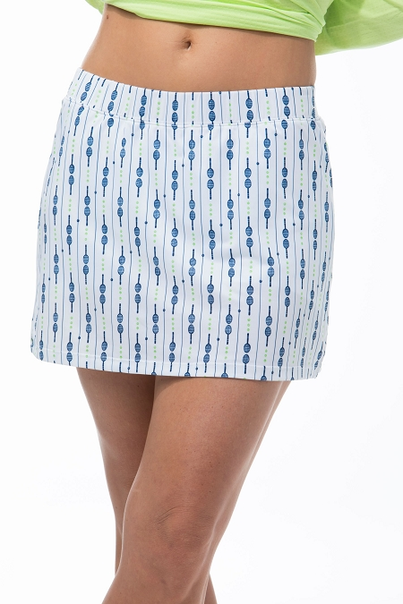 900213P SanSoleil SunGlow 13 Inch Tennis Skort. Down the Line