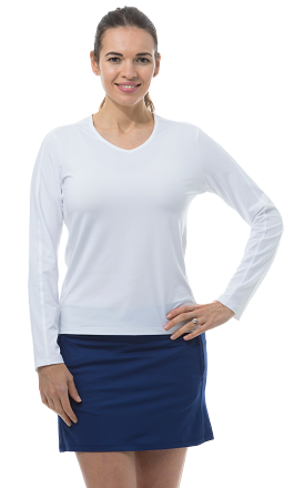 900429S Sunglow Active Tee. White