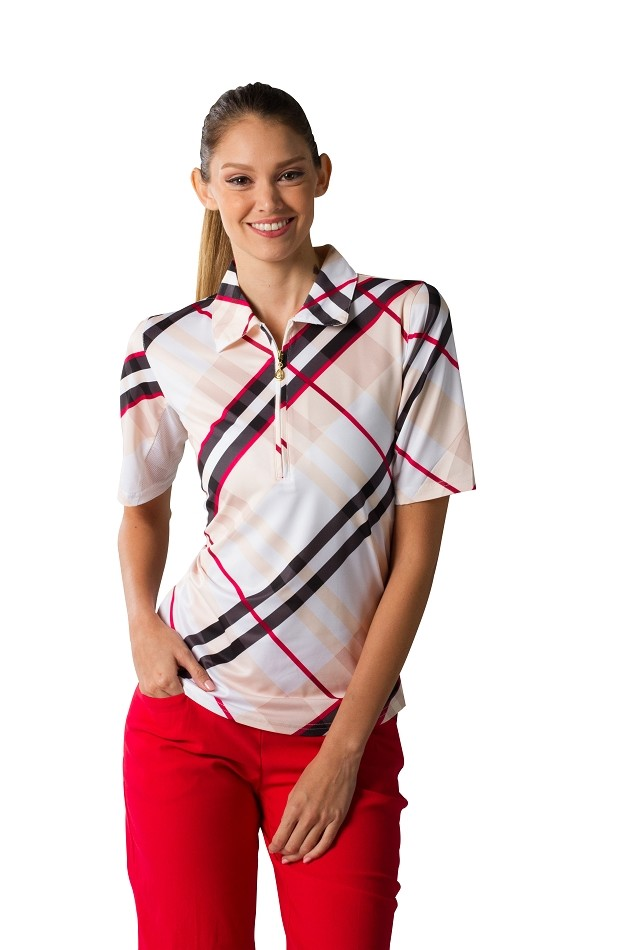 900467 Short Sleeve - Elbow Length Polo. Highlands Tan