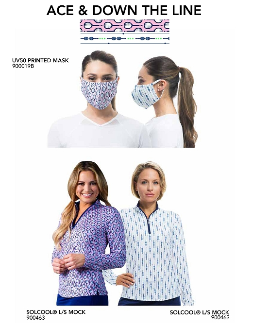 900919 ACE/DTL Mask/Top Bundle- 900463 Ace and 900463 Down the Line