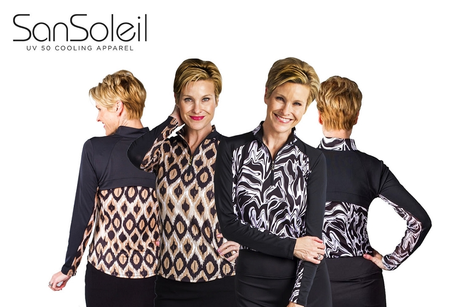 900442 Serengeti Black and 900464 Bohemia. Two Tops for $109.00