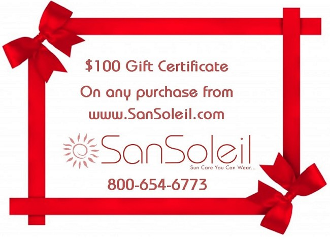 Mom's Sun Protection Gift Certificate